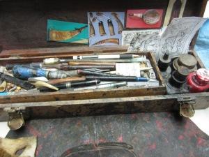 Scrimshw Tools brought by Steve Vance