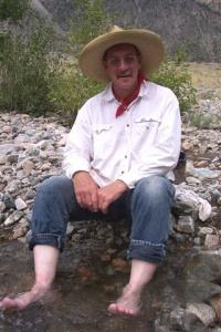 Scott Sibley at his ranch