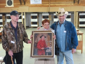 Harold and Patty Moore with Bill Conant. Photo my Mike Nesbitt