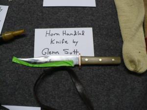 Horn Handled Knife by Glenn Sutt