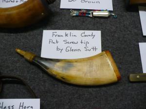 Franklin County Screw tip Flat Horn by Glenn Sutt