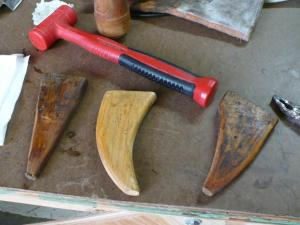 Proj Wooden forms for flat horns
