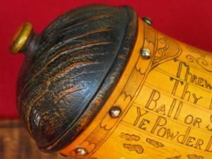 Detail on the Hart Ledger Horn