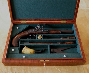 Pistol Box and accessories by Keven Hart